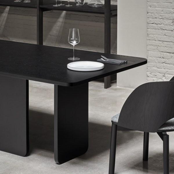mesa de comedor de fresno negri