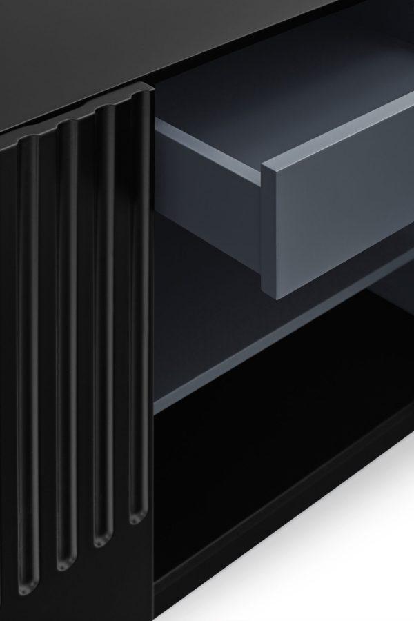 Aparador Doric 3 puertas Teulat en negro