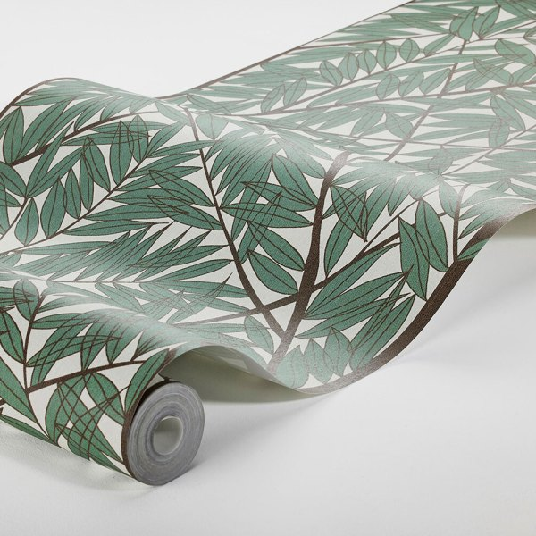 rollo de papel pintado mural korgpil de viola grasten verde