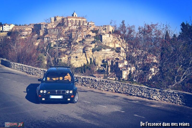 #14Lancia Delta HF Integrale Evo1 WRC VerdeYorkhaut2gordes