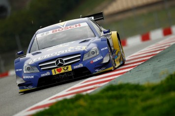 Motorsports / DTM 2013, Test Barcelona 2013