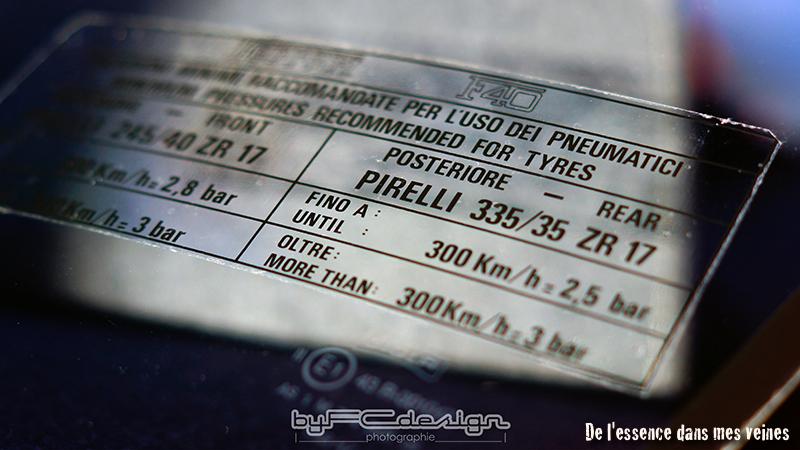 byfcdesign Ferrari F40 19