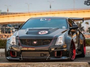 Cadillac CTSV D3 coupeavant