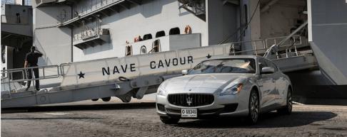 Maserati aircraft carrierquattroporte
