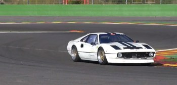 Ferrari Spa Rouge blanche
