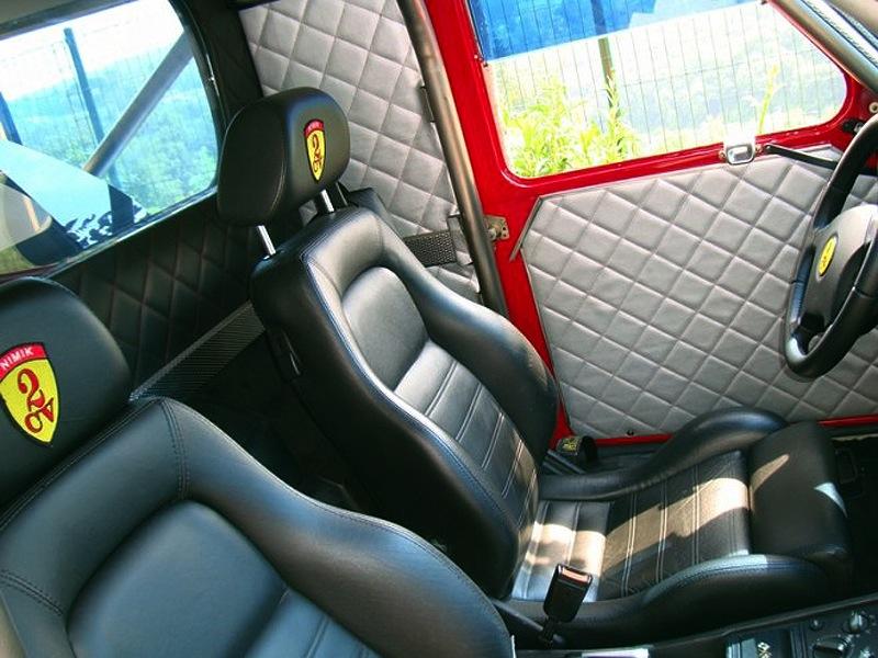 Ferrari 2 CV fourgonnette V8… O_o 16