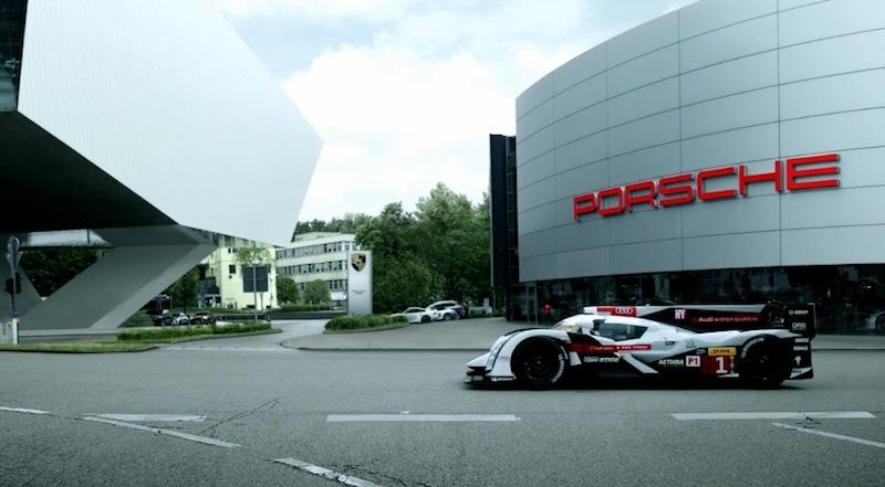 DLEDMV_Audi_chauffe_Porsche_R18etron