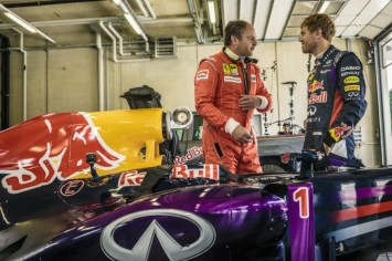 Sebastian Vettel and Gerhard Berger - Lifestyle
