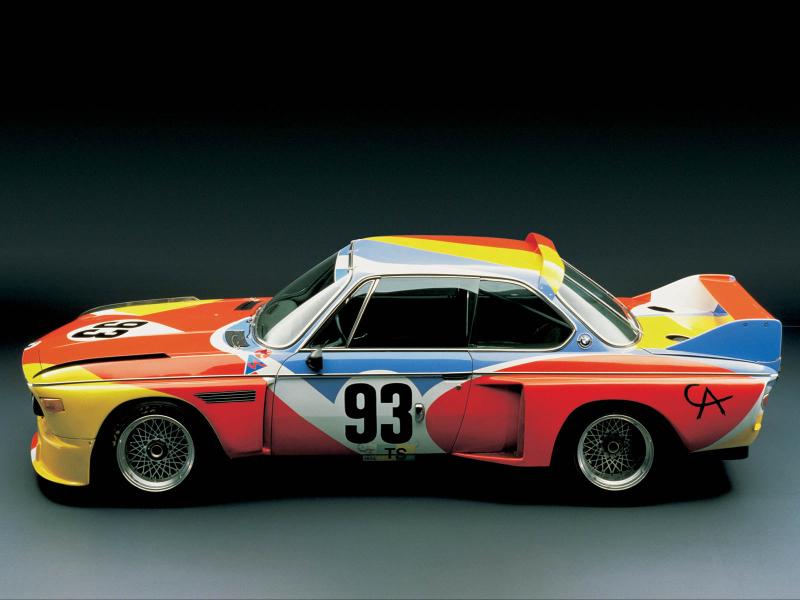 DLEDMV BMW Art Cars Herve Poulain07