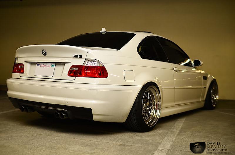 DLEDMV BMW M3 E46 Snow White 07