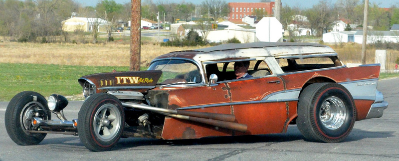 DLEDMV Chevy BelAir Wagon Rat Rod 01