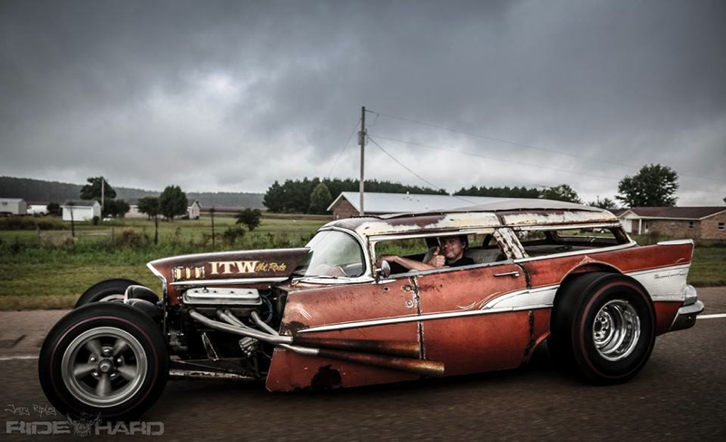 DLEDMV Chevy BelAir Wagon Rat Rod 04