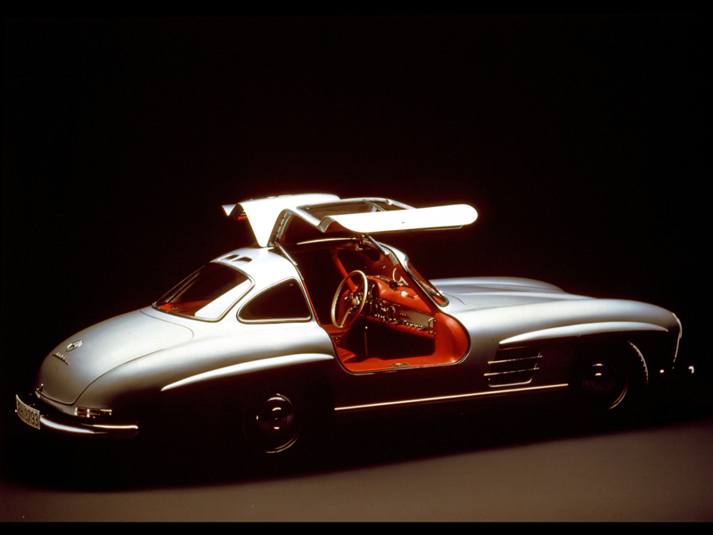 DLEDMV Mercedes 300SL Gullwing Lightweight07
