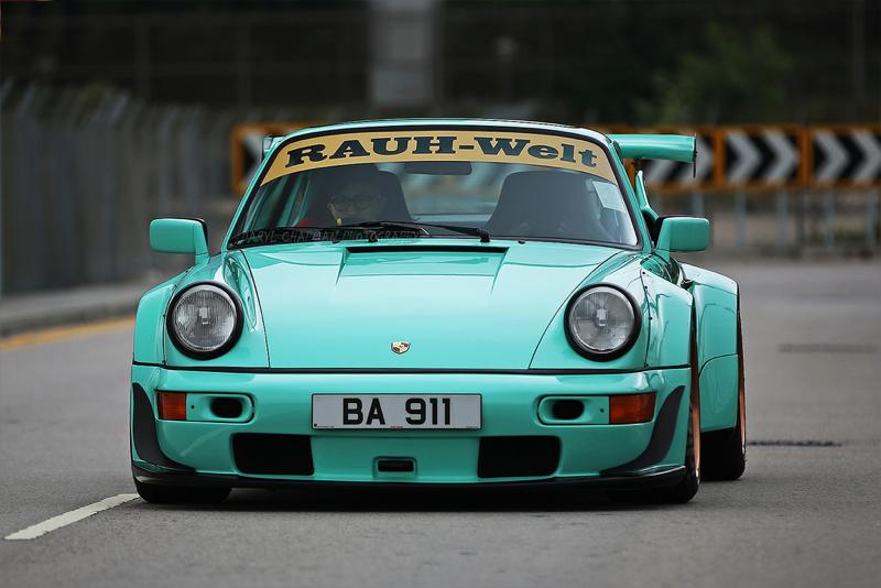 DLEDMV Porsche 964 RWB Hong Kong 001