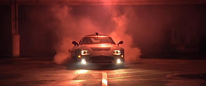 DLEDMV Spyker C8 Burnout 003