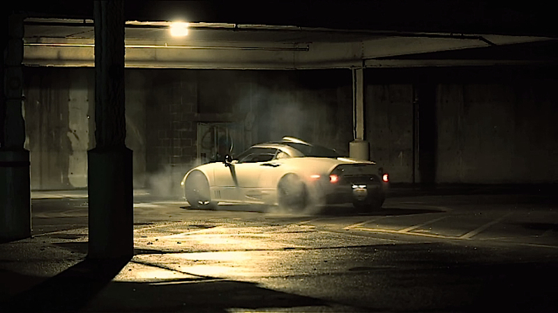 DLEDMV Spyker C8 Burnout 004
