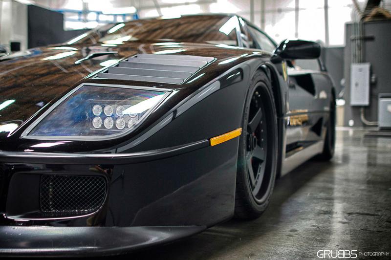 DLEDMV Ferrari F40 Gas Monkey Garage Making Of 02