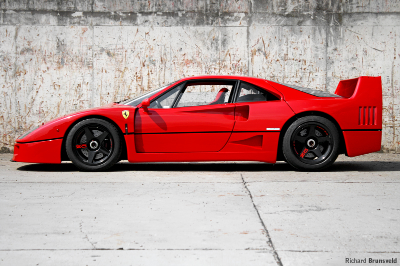DLEDMV Ferrari F40 reveil & tunnel japan 002