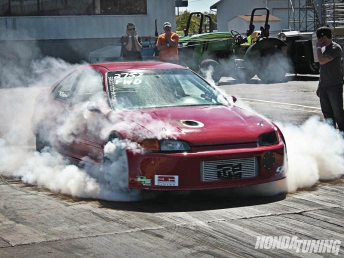 DLEDMV Honda Drag Turbo & flams 07