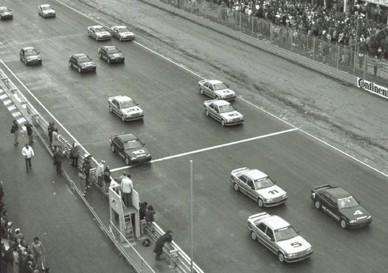 DLEDMV Mercedes 190 2,3 16 race 84 007