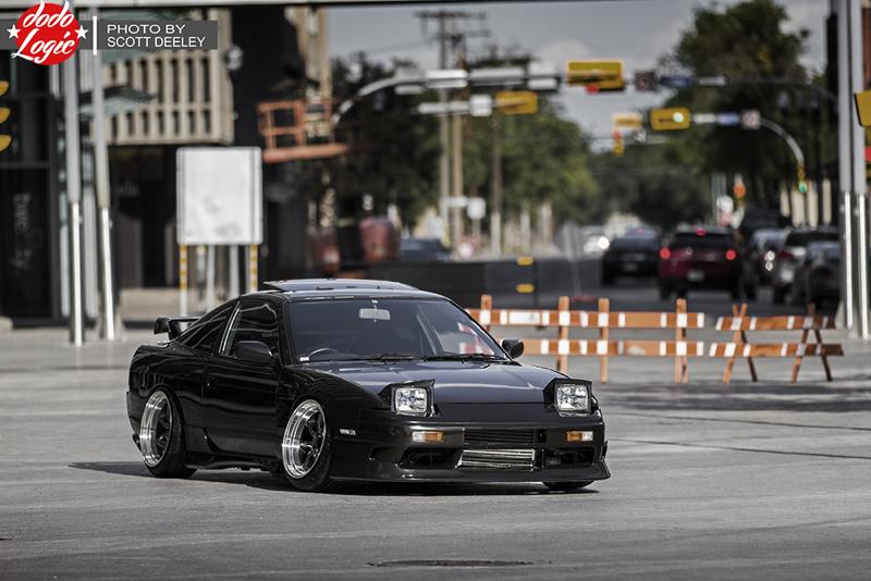 DLEDMV Nissan 180SX S13 Slammed 09