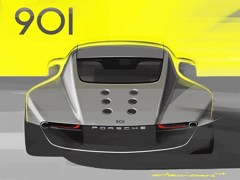 DLEDMV Porsche 901 Concept Ege Arguden 10