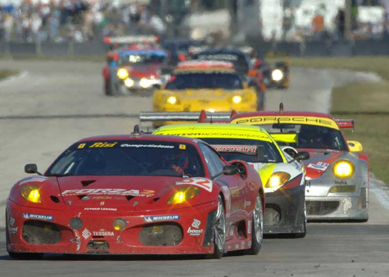 DLEDMV ALMS Finish GT2 12h Sebring 01