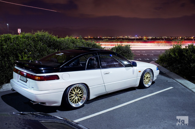 DLEDMV Bagged Subaru SVX 02