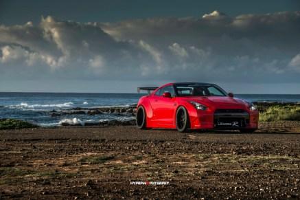 DLEDMV Nissan GTR LB Walk Hawai 02
