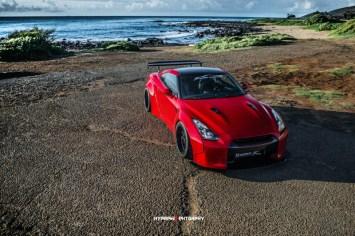 DLEDMV Nissan GTR LB Walk Hawai 04