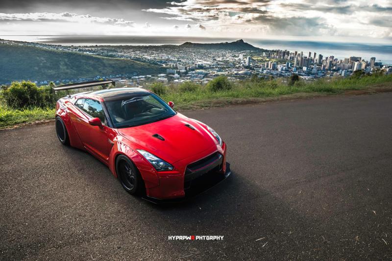 DLEDMV Nissan GTR LB Walk Hawai 10