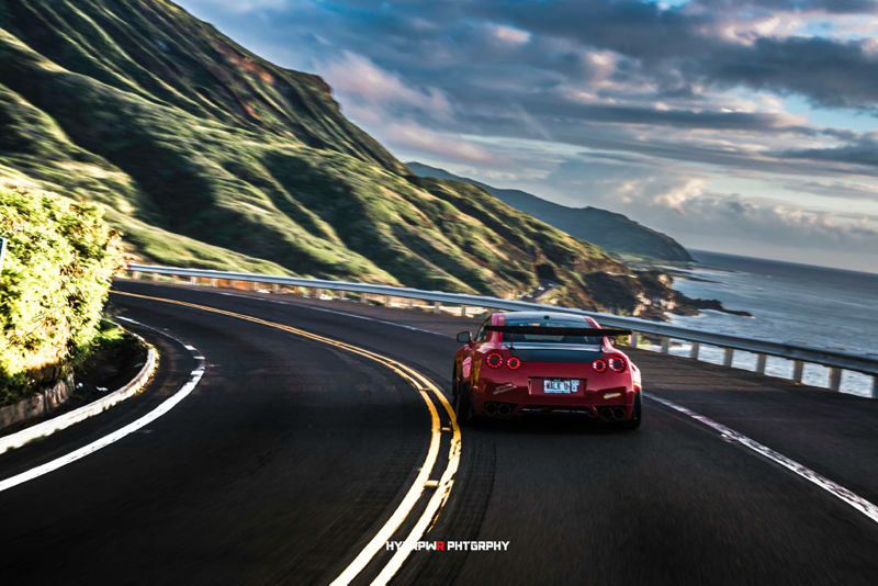 DLEDMV Nissan GTR LB Walk Hawai 15