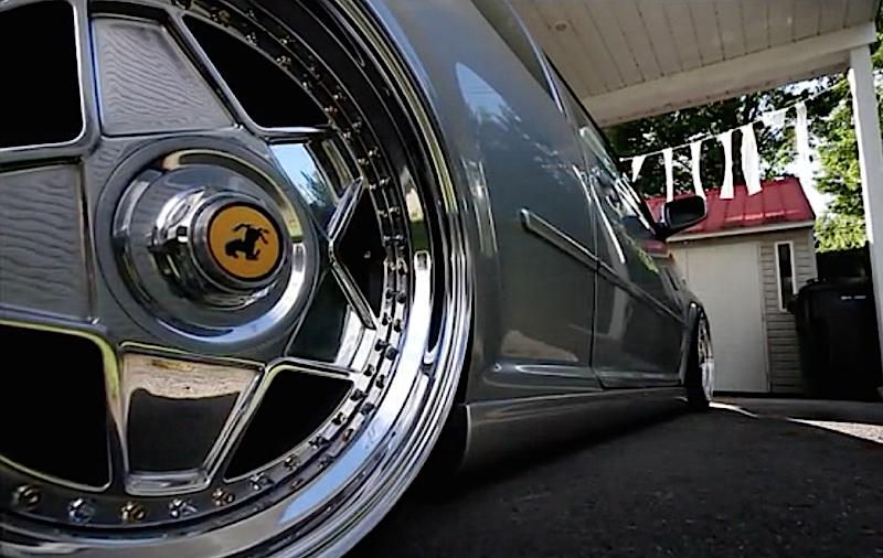 DLEDMV VW Golf Airride & Ferrari wheels 05