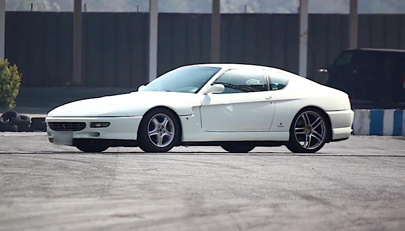 DLEDMV Ferrari 456 GT Drift 01
