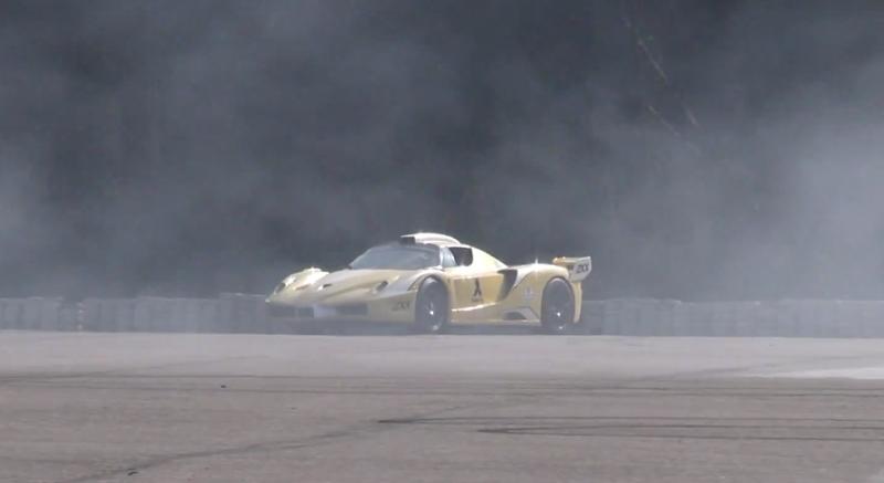DLEDMV Ferrari Enzo ZXX Edo Burnout & Donuts 02