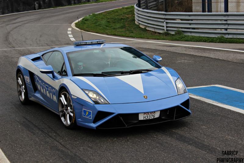 DLEDMV Lamborghini Gallardo Polizia Donuts 02