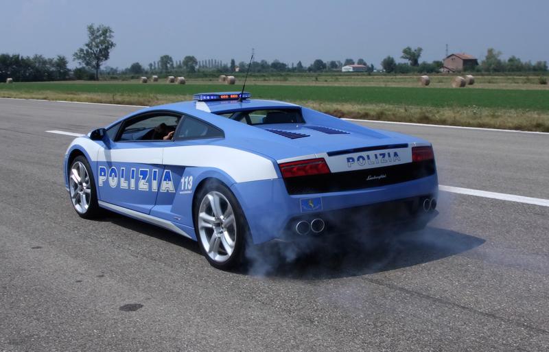 DLEDMV Lamborghini Gallardo Polizia Donuts 05