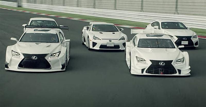 DLEDMV Lexus Dance of F 04