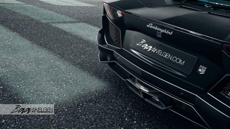 DLEDMV - Lamborghini Aventador Akrapovic & HRE - 01