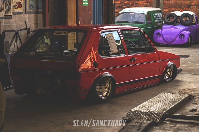 DLEDMV - VW Golf 13B Slammed 11