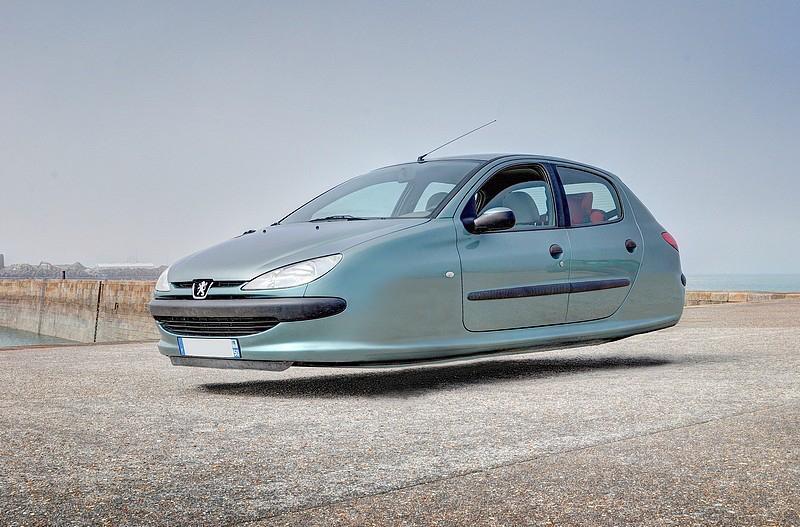 DLEDMV - flying wheelless cars 05
