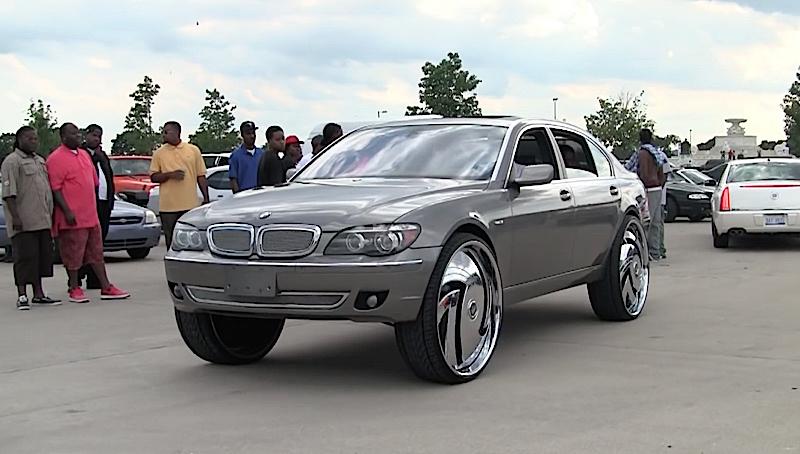 DLEDMV - BMW 750 Li Donk 30' -02