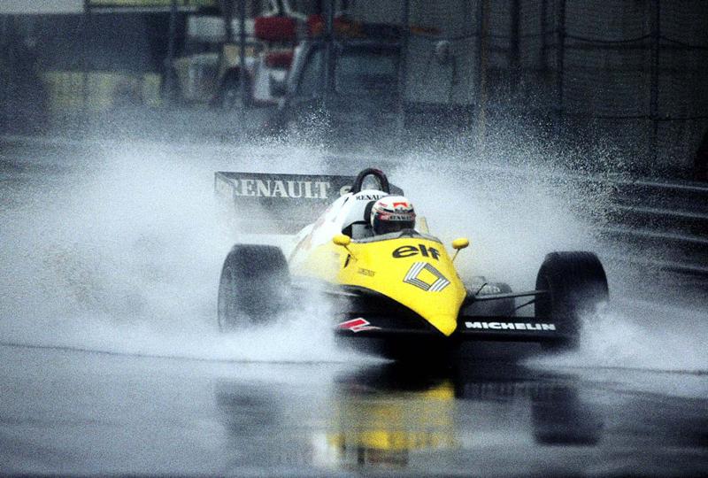 DLEDMV - Prost Renault F1 onboard Monaco 81 -03