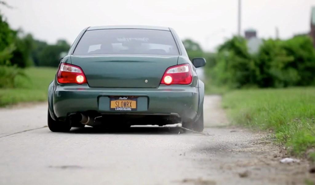 DLEDMV - Subaru WRX Green Bugeye - 01