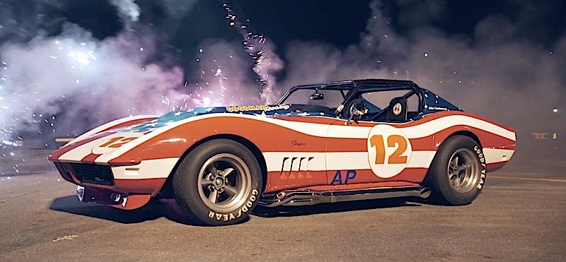 DLEDMV - Corvette real america stars & stripes - 05