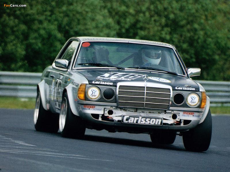 DLEDMV - Mercedes 280 CE Carlsson Hillclimb - 02