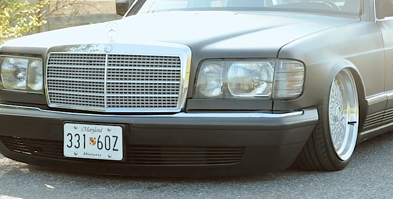 DLEDMV - Mercedes W126 air ride 300 SD - 03