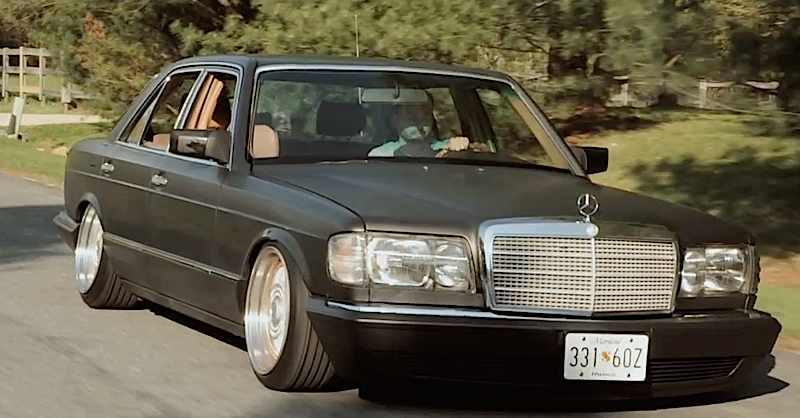 DLEDMV - Mercedes W126 air ride 300 SD - 05