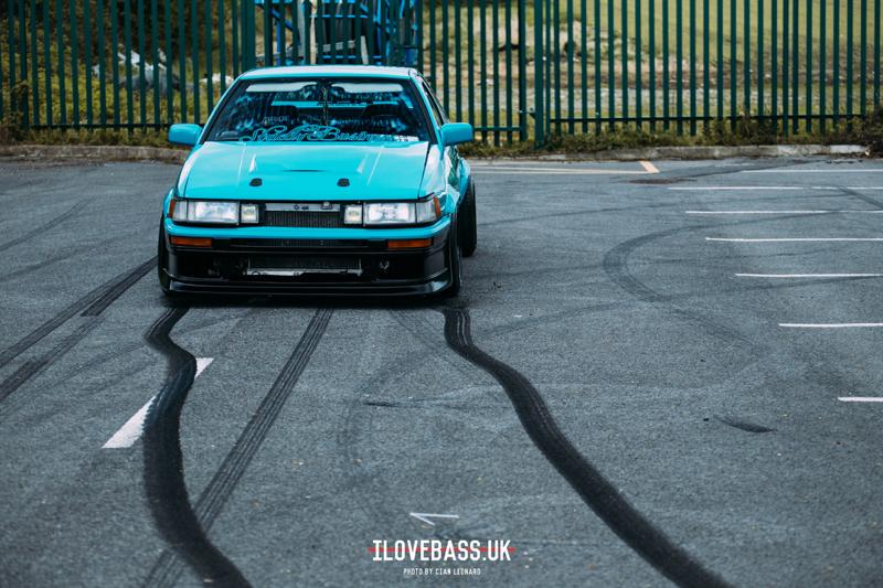 DLEDMV - Toyota AE86 swap V8 - 12
