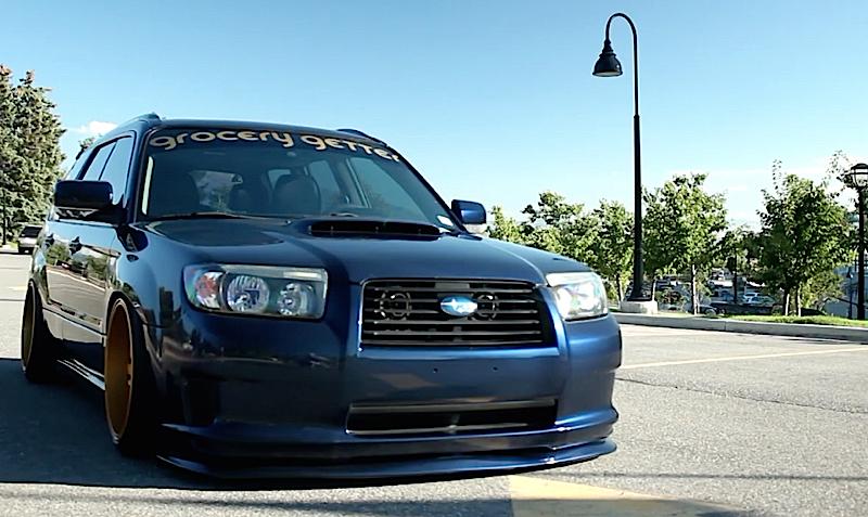 DLEDMV - Subaru Forester on airbag - 02